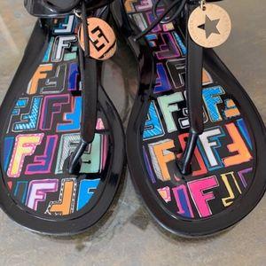 Fendi Jelly Sandals